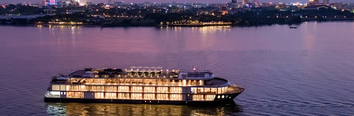 Wendy Wu Tours celebrates Victoria Mekong's maiden voyage