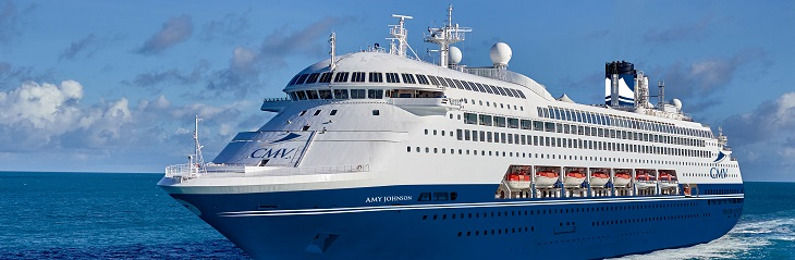 CMV's Amy Johnson cruise ship already booking out for 2021