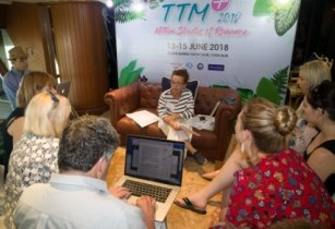 TAT welcomes TTM+ delegates aboard for tourism briefings