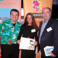 Left – Right Andrew Hillier – Coco Reef Resort, Gemma Lewis – The Villas at Stonehaven, Mac Campbell – Rex Resorts / Turtle Beach