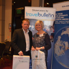 Cathay Pacific: Keith Harrison, Winner from Prestbury Travel Group: Heidi Deverell