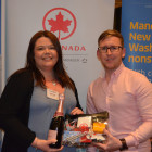 Air Canada: Kevin Rogers, Winner from Travel Counsellors: Victoria Costello
