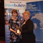 Travel Bulletin: Gemma Reeve, Bingo First Prize Winner from Bowman Travel Services: Fae Bowman
