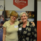 Suzanne Kimberley from Co-operative Travel with Claire Hancer from Efteling Park