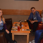 Abby Collins, Ryan Amos and Kathryn Robinson all Flight Centre