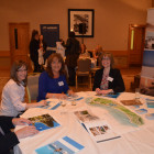 Holywell Travel Brian Loynton, Debbie Thomas, Kim Bower with Claire Griffiths from Sani Resort