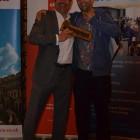 Ryan Amos from Flight Centre wins Chocolates from Simon Eddolls