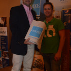 STA Ben Walton Wins a Greek goody bag from Kiriakos Liolios Greek National Tourist board