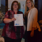 Amanda Rudham Travel Counsellors wins a stay with Ikos Resorts from Carly Wright