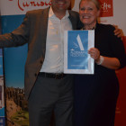 Angela Davies from Sandy Lane Travel wins An accomodation stay with Aldemar ??