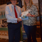 Kathryn Robinson from Flight Centre wins a stay with Constantinou Bros from Mark Richardson