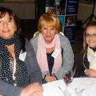 (l to r) Ailsa Tavares, Desroches Island, Seychelles; Maureen Johnson, Access World Travel; Cheryl Johnson, Access World Travel