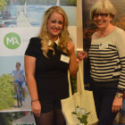 Stacey Silvester ( Virgin Holidays ) goody bag prize from Julie Greenhill, Massachusetts