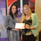 Henika Patel ( Caesars Entertainment ) gives Elimor Howell a 2 night stay with Caesars and tickets to see Legends