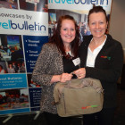 Gemma Hall from First Choice Holidays was lucky enough to win a Botswana Tourism briefcase from the lovely Dawn Wilson.