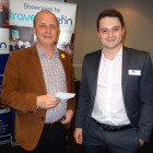 Simon Morgan from Tailor Made Travel wins a £50 M&S Voucher, from Riviera Travel