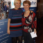 Louise Sword from Titan with Alison Ashford Meadway Travel