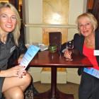 Stephanie Robinson. Moorend Travel, Barbara Holmes, Moorend Travel.